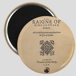 King Edward III (1596) Magnet