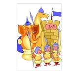 Fantasy Chess Postcards (Package of 8)