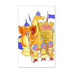 Fantasy Chess 22x14 Wall Peel