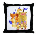 Fantasy Chess Throw Pillow