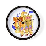 Fantasy Chess Wall Clock
