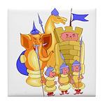 Fantasy Chess Tile Coaster