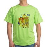 Fantasy Chess Green T-Shirt