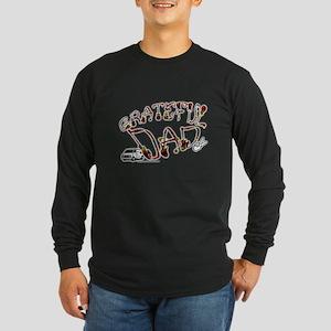 Grateful Dad - Long Sleeve Dark T-Shirt