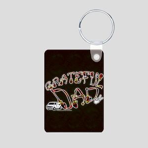 Grateful Dad - Aluminum Photo Keychain
