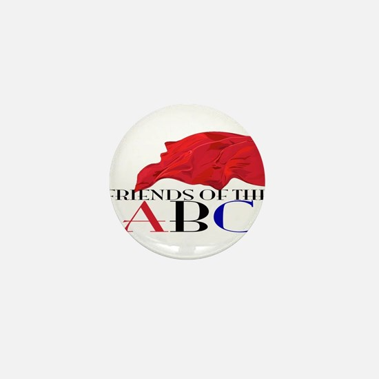 Friends of the ABC Mini Button