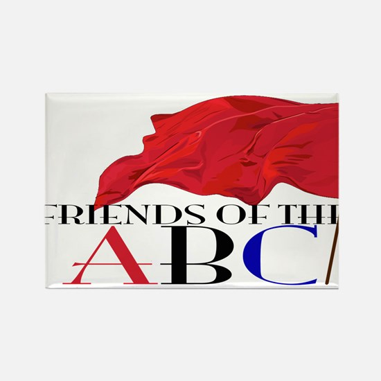 Friends of the ABC Rectangle Magnet