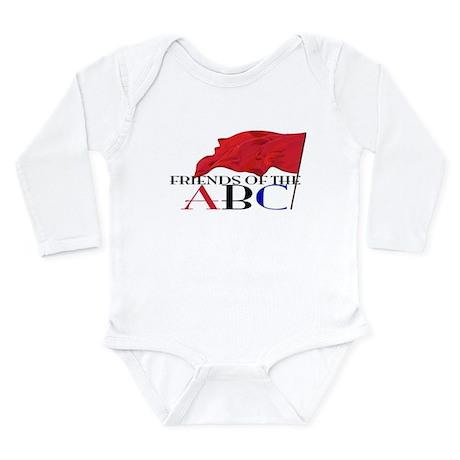 Friends of the ABC Long Sleeve Infant Bodysuit