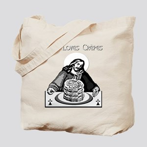 JESUS LOVES CREPES! Tote Bag