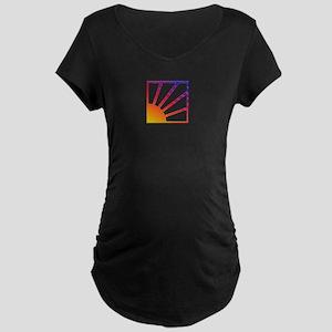 Here Comes da Sun Maternity Dark T-Shirt
