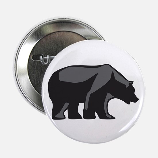 """Unique Brown bear 2.25"""" Button (10 pack)"""