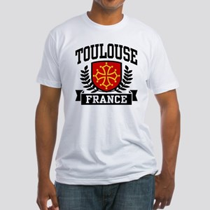 Toulouse France Fitted T-Shirt