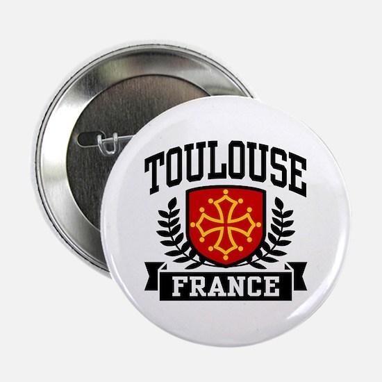 "Toulouse France 2.25"" Button"