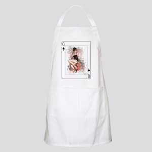 Queen of Spades Pin-Up Apron
