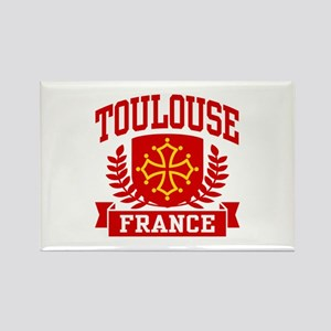 Toulouse France Rectangle Magnet