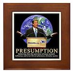 Al Gore Presumption Framed Tile