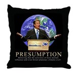 Al Gore Presumption Throw Pillow