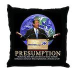 Al Gore Presumption Throw Pillow