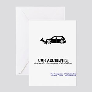 Car Accidents (CCQ) Greeting Card