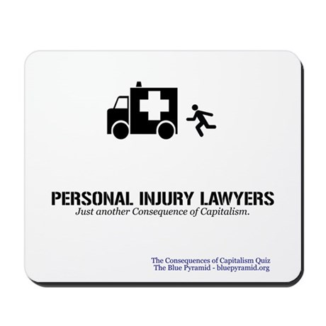 Personal Injury Lawyers (CCQ) Mousepad by thebluepyramid