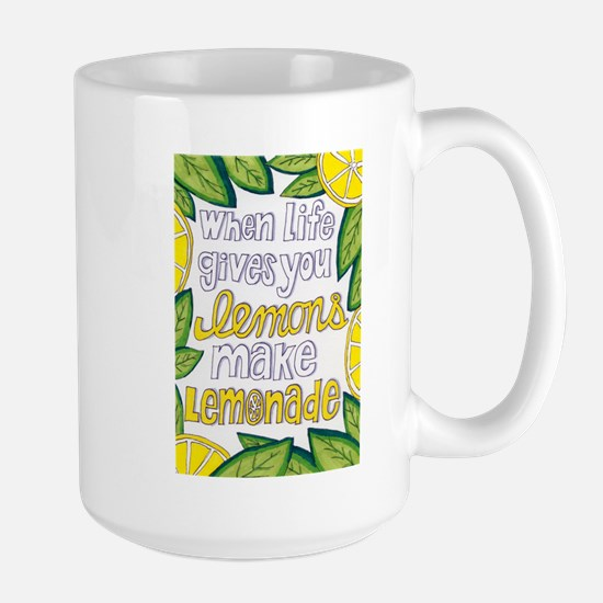 Make Lemonade Large Mug