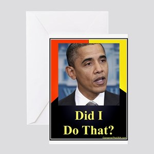 Did I Do That? Greeting Card