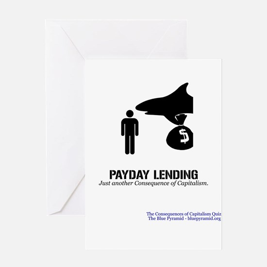 Payday Lending (CCQ) Greeting Card