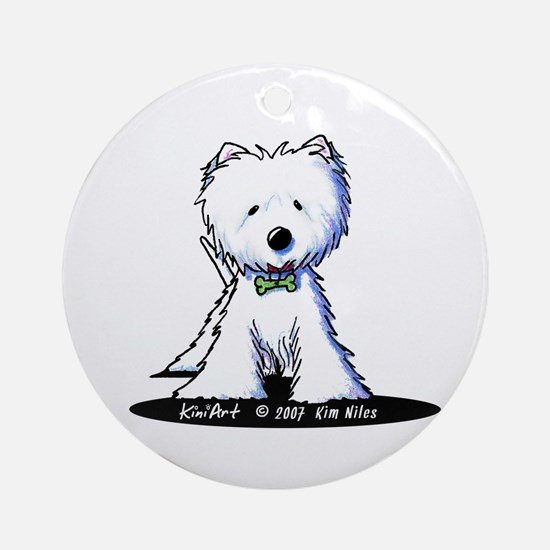 Groomed n' Gorgeous Ornament (Round)