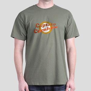 Captain Cornhole Dark T-Shirt