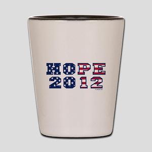 Hope 2012 (US Election) Shot Glass
