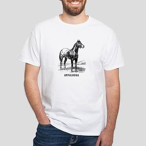 Appaloosa White T-Shirt