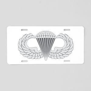 Airborne Aluminum License Plate