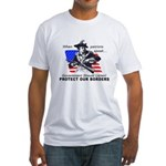 Border Patrol Fitted T-Shirt