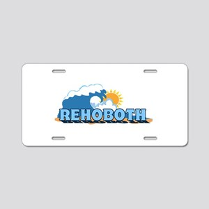 Rehoboth Bech DE - Waves Design Aluminum License P