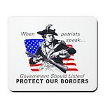 Border Patrol Mousepad