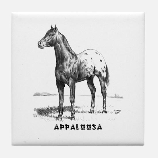 Appaloosa Tile Coaster