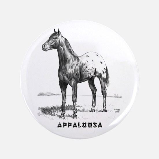 "Appaloosa 3.5"" Button"