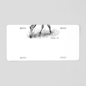 Appaloosa Aluminum License Plate