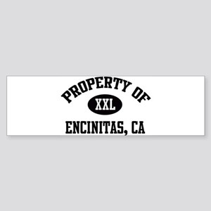 Property of Encinitas Bumper Sticker
