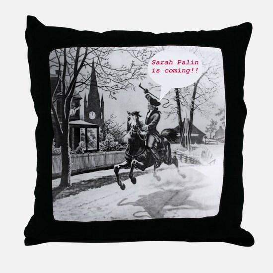 Palin Revere Throw Pillow