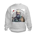 Osama luvs Liberals Kids Sweatshirt