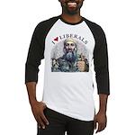 Osama luvs Liberals Baseball Jersey