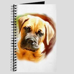 Mastiff puppy portrait Journal