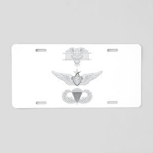 EFMB Flight Surgeon Senior Aluminum License Plate