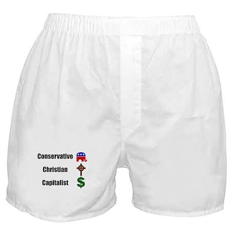 Christian Conservative Boxer Shorts