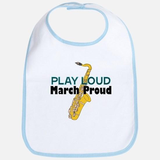 Play Loud March Proud Sax Bib