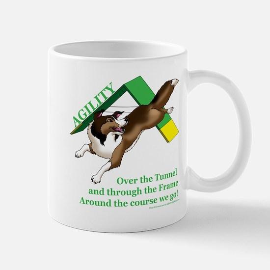 Around the Course We Go! Mug