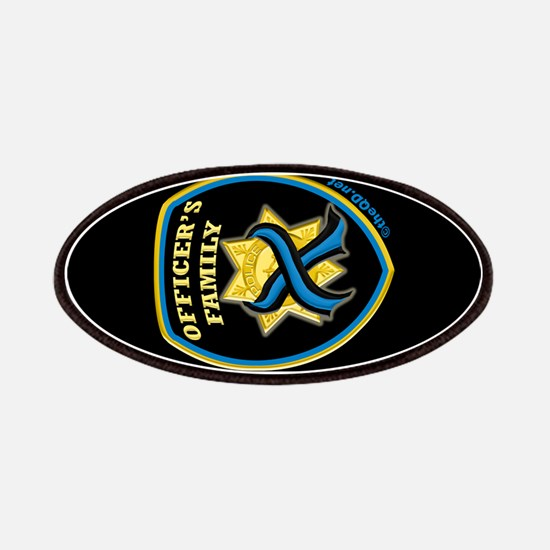 ThinBlueLine Officer's Family Patches