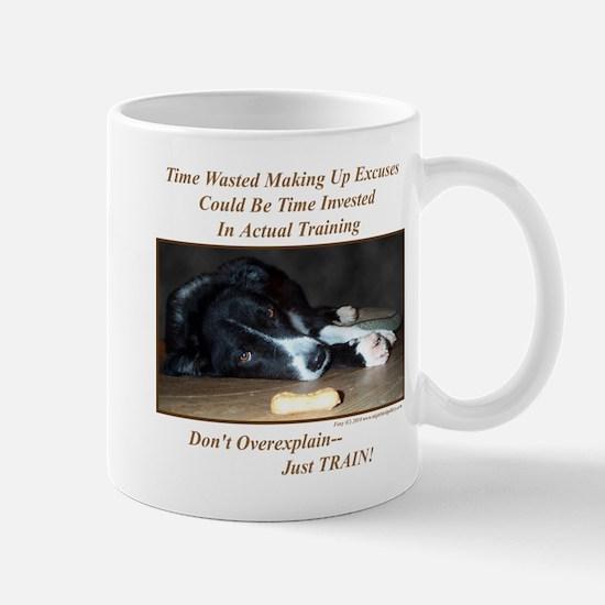 Training Excuses Collection Mug