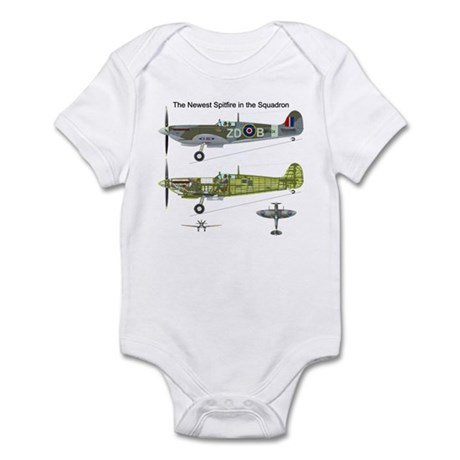 Supermarine Spitfire MH434 Infant Bodysuit